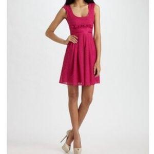 Nanette Lepore Lace Overlay Soundgarden Dress
